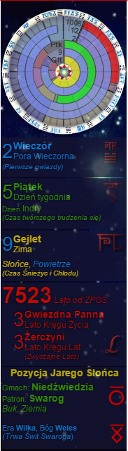 zegar slowianski