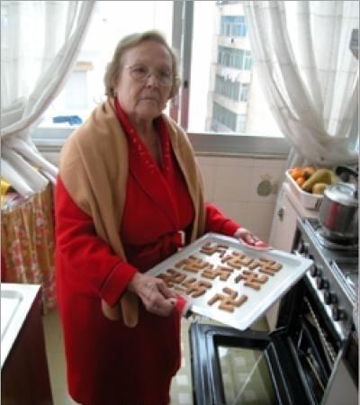 babcia i swastyki