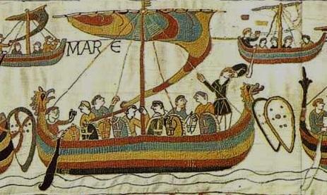 Bayeux Viking ships