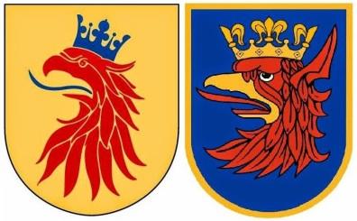 Herby Skanii i Szczecina