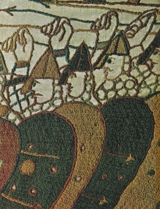Normands sur le tapis de Bayeux