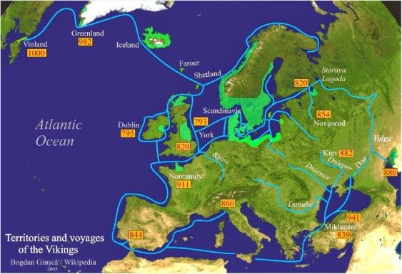 Territories of the Vikings ed1