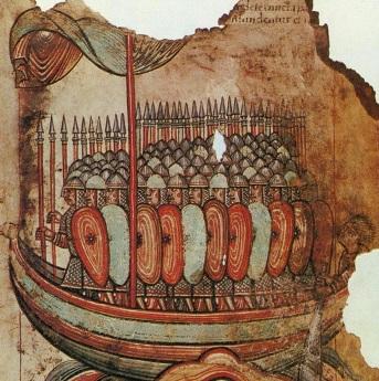 Viking invasion Guérande AD 919