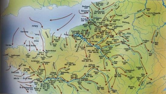 Viking invasions on France (1)