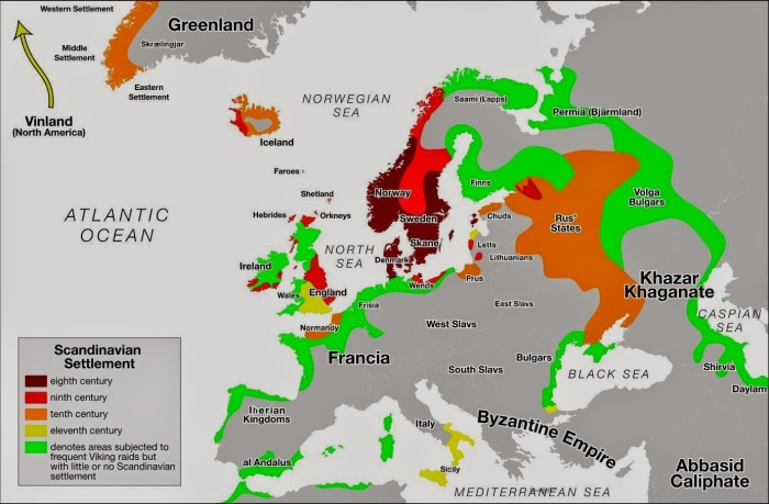 Viking settlements and trade