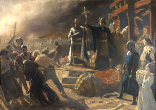 Bishop_Absalon_topples_the_god_Svantevit_at_Arkona