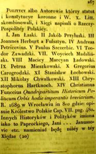 Kronika Prokosza – Bibliografia - 21