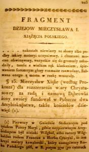 Kronika Prokosza – Dzieje Mieszka - 1