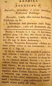 Kronika Prokosza – Rozdział II - 1