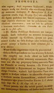 Kronika Prokosza – Rozdział II - 10
