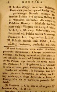 Kronika Prokosza – Rozdział II - 3