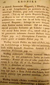 Kronika Prokosza – Rozdział II - 5
