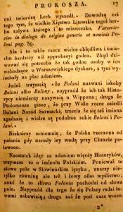Kronika Prokosza – Rozdział II - 6