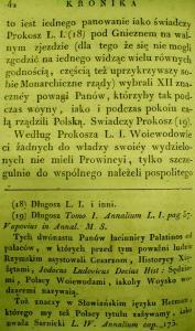 Kronika Prokosza – Rozdział III - 16