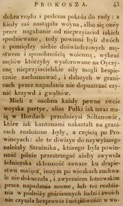 Kronika Prokosza – Rozdział III - 17