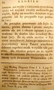 Kronika Prokosza – Rozdział III - 18