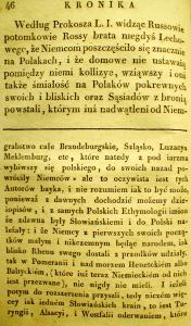 Kronika Prokosza – Rozdział III - 20