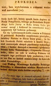 Kronika Prokosza – Rozdział III - 3