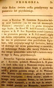 Kronika Prokosza – Rozdział III - 5