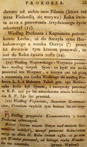 Kronika Prokosza – Rozdział III - 7