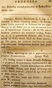 Kronika Prokosza – Rozdział III - 9