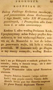 Kronika Prokosza – Rozdział IV - 1
