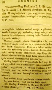 Kronika Prokosza – Rozdział IV - 16