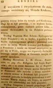 Kronika Prokosza – Rozdział IV - 20