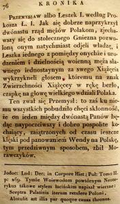Kronika Prokosza – Rozdział IV - 28