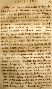 Kronika Prokosza – Rozdział IV - 29
