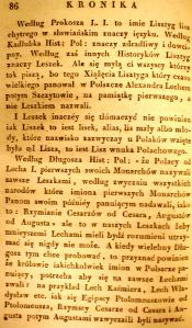 Kronika Prokosza – Rozdział IV - 38