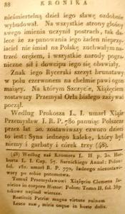 Kronika Prokosza – Rozdział IV - 40