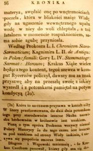Kronika Prokosza – Rozdział IV - 8