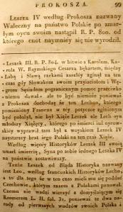 Kronika Prokosza – Rozdział V - 10