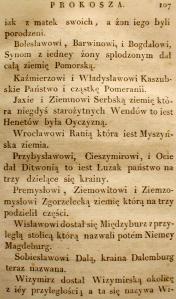 Kronika Prokosza – Rozdział V - 13