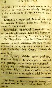 Kronika Prokosza – Rozdział V - 14