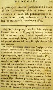 Kronika Prokosza – Rozdział V - 15