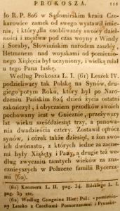 Kronika Prokosza – Rozdział V - 17