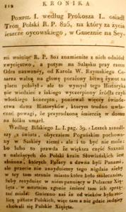 Kronika Prokosza – Rozdział V - 18