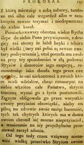 Kronika Prokosza – Rozdział V - 27