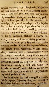 Kronika Prokosza – Rozdział V - 29