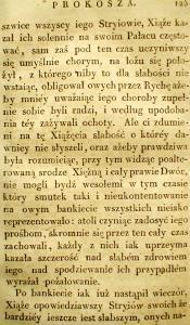Kronika Prokosza – Rozdział V - 31