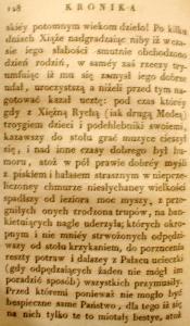 Kronika Prokosza – Rozdział V - 34
