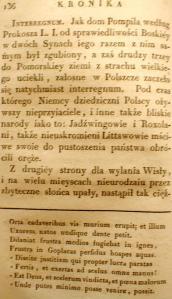 Kronika Prokosza – Rozdział V - 42