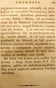 Kronika Prokosza – Rozdział V - 45
