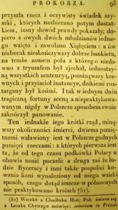 Kronika Prokosza – Rozdział V - 6