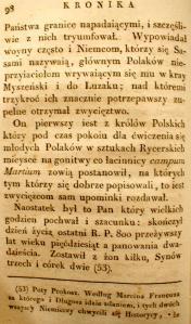 Kronika Prokosza – Rozdział V - 9