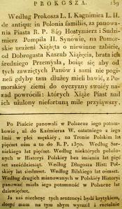 Kronika Prokosza – Rozdział VI - 17