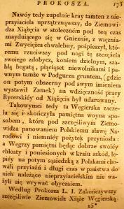 Kronika Prokosza – Rozdział VI - 31