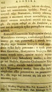 Kronika Prokosza – Rozdział VI - 52